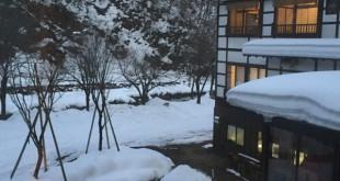 雪の宿。 新潟にあります貝掛温泉